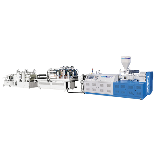 Complete Production Line For Large Volume Profile Extrusion