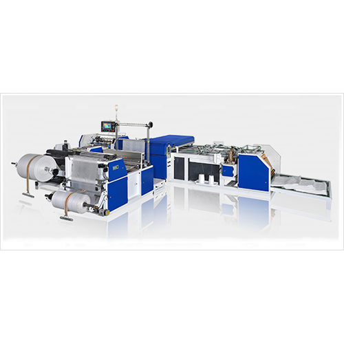 PE Film Liner Inserting Cutting-Sewing Line for Woven Bag