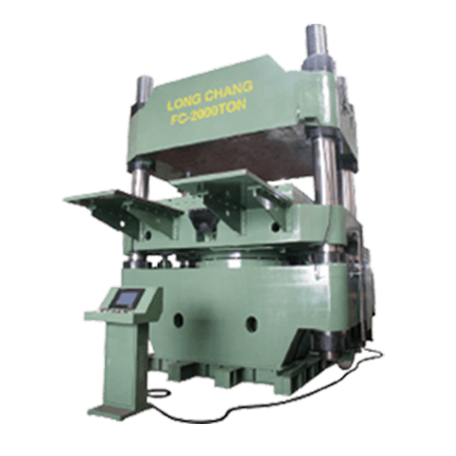 Single Body Oil Hydraulic Compression Molding Machine - FCL SERIES