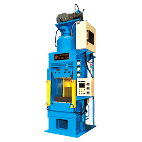 Single Body Oil Hydraulic Compression Molding Machine (Down Stroke Type) - FCT-X Series